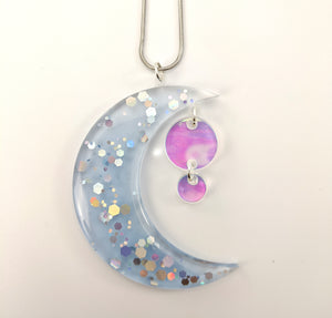 Blue Moon Necklace ~ Large ~