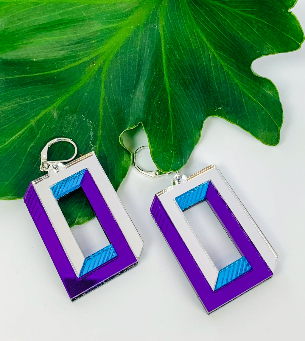 Impossible Rectangle Earrings
