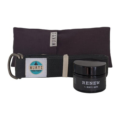 Renew bundle - Eye pillow, strap & balm