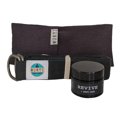 Revive bundle - Eye pillow, strap & balm