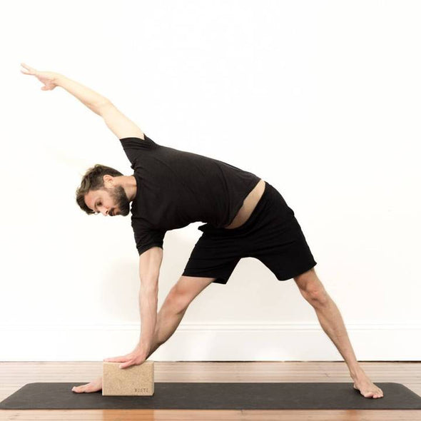 Mukti Cork Yoga Block