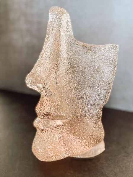 Woman Face Sculpture - Brandt's Home Decor