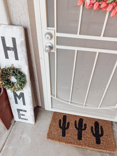 Cactus Doormat - Brandt's Home Decor