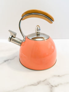 Peach Tea Kettle