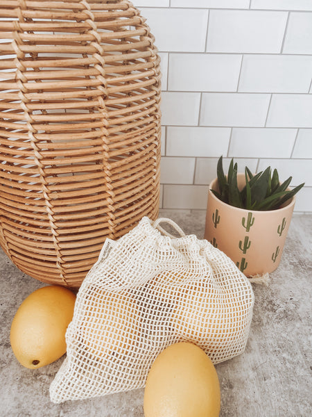 Ecomended Mesh Bulk/ Produce Bags (set of 3)