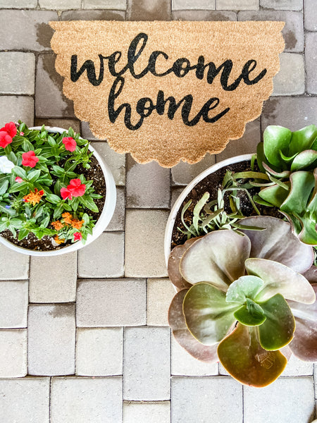 Scallop Welcome Doormat