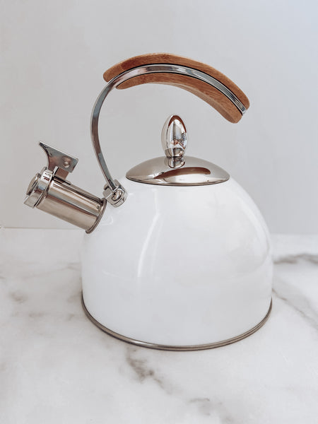 White Tea Kettle