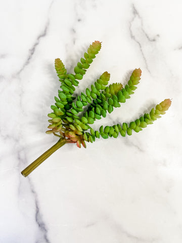 Faux Mini Colored Succulent Stem