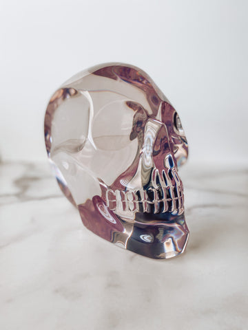 Skull Sculpture - Brandt's Home Decor