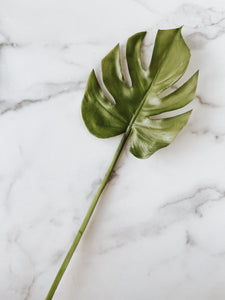 Monstera Leaf Stem - Brandt's Home Decor