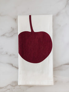 Red Cherry Cotton Dish Towel - Brandt's Home Decor