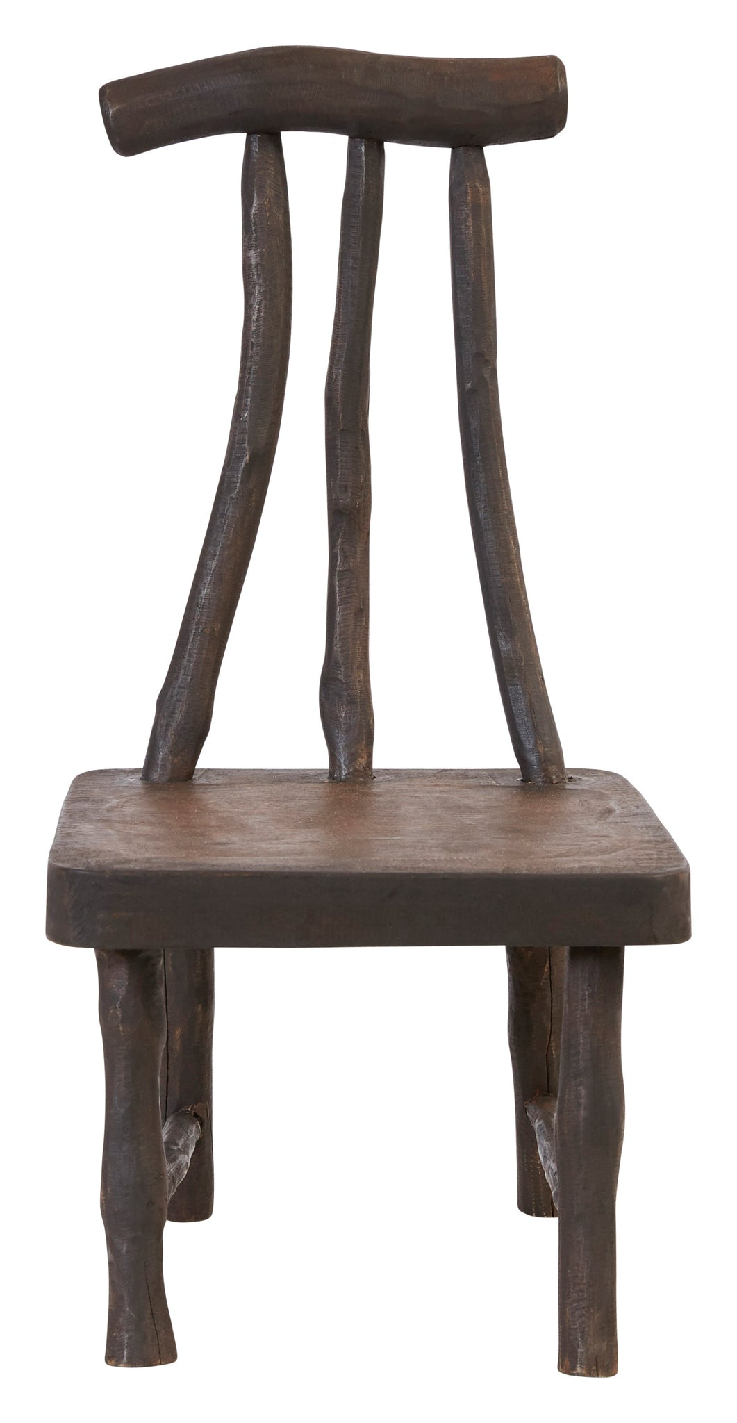 Small Rustic Mango Wood Chair
