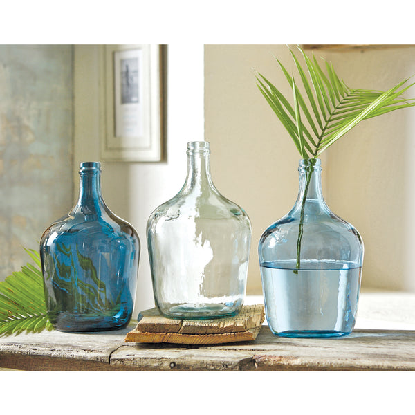 Carafe Bottle Vases - Brandt's Home Decor