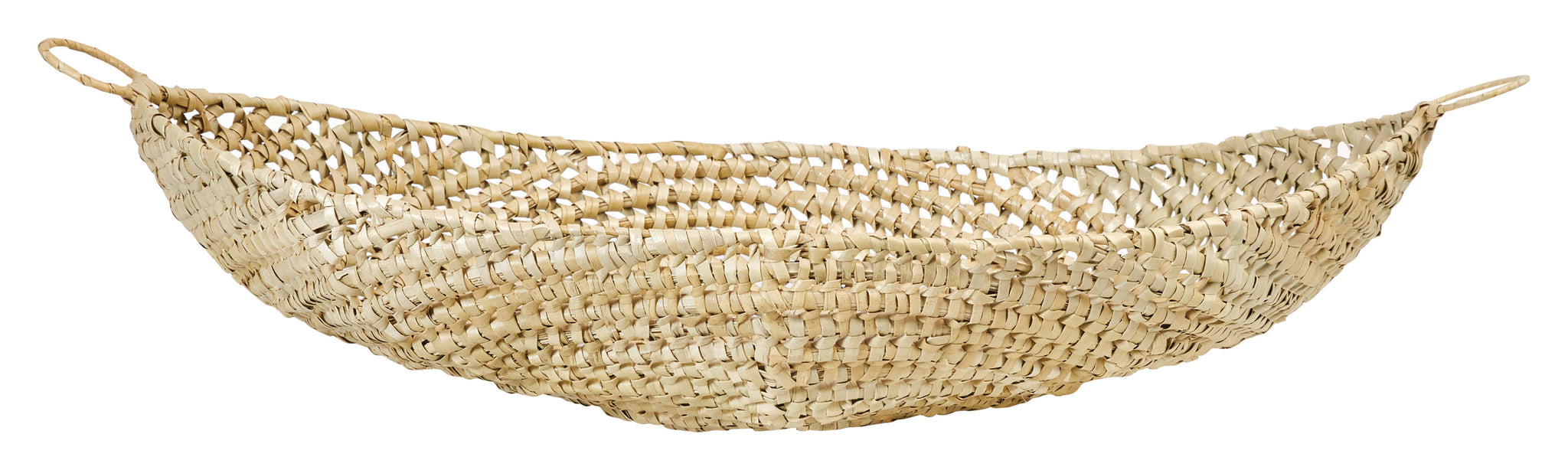 "Decorative 37""L Handwoven Karagumoy Basket"