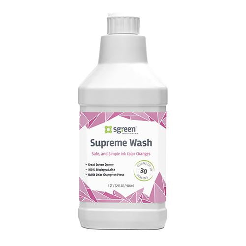 Sgreen Supreme Wash Ink Remover by Franmar | ScreenPrinting.com