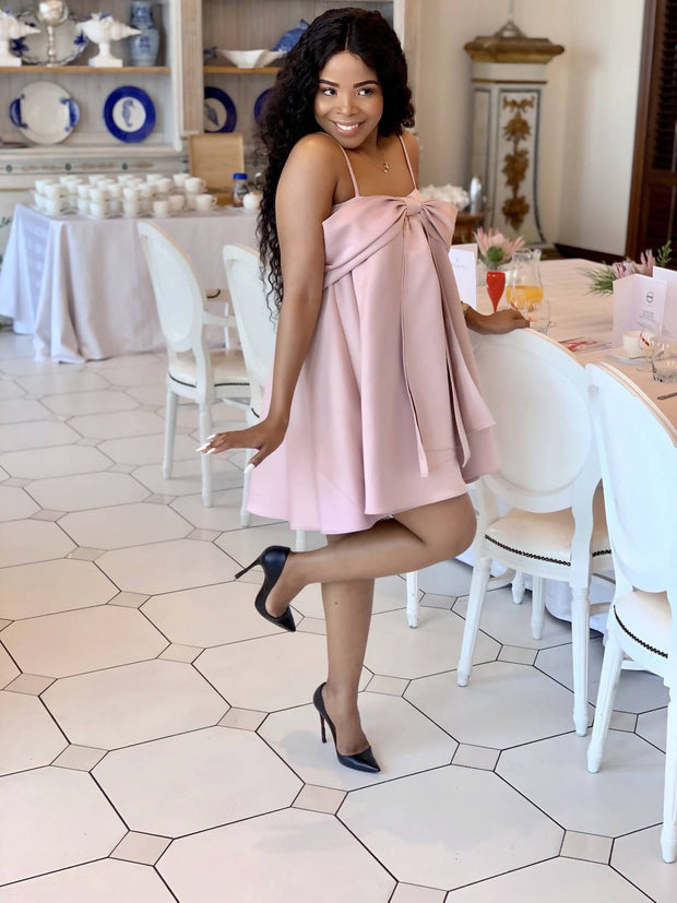 Blush Pink Babydoll Dress