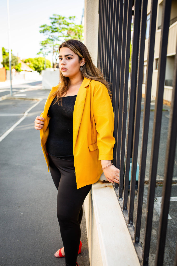 Oakridge Yellow blazer