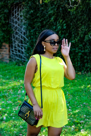 Zara Yellow Playsuit