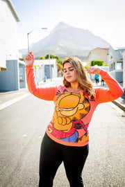 Garfield & OD orange Crewneck