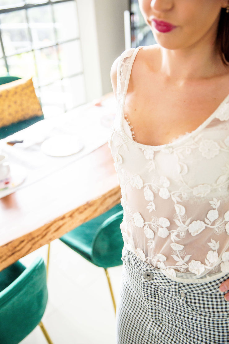 Forever New embroidered top - WisiOi