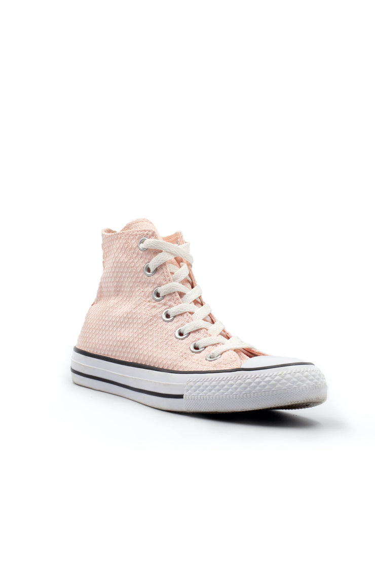 All star converse pink textured sneaker - Wisi-Oi