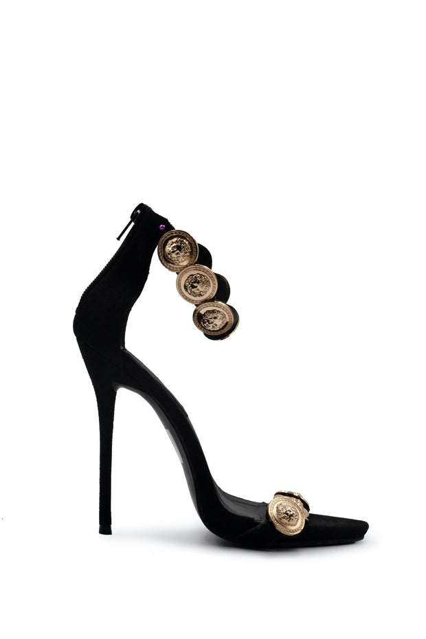 Peace & Love Gold Coin Heel - Wisi-Oi