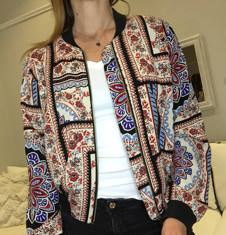 Top Shop Print Jacket