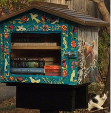 Load image into Gallery viewer, Bungalow Library / Little Pantry / Neighborhood Library / Blessing Box