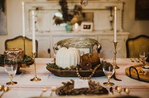 Deluxe Bountiful Harvest Tablescape