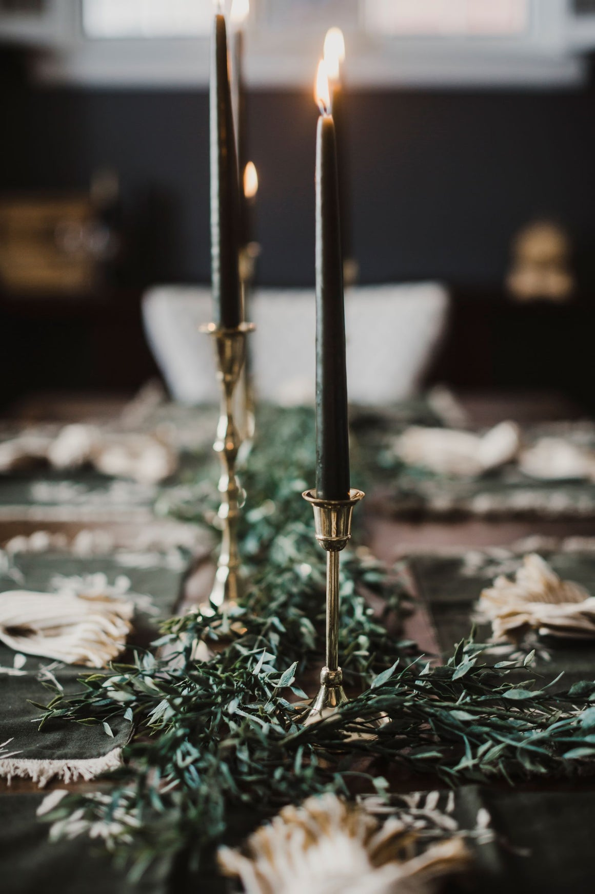 Olive Boho Tablescape