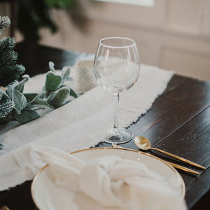Off White Provence Table Runner