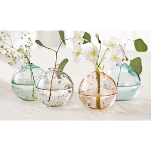 Sphere Bud Vases- Assortment of 4