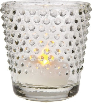 Glass Votive Candle Holder (set of 2)
