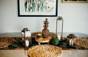 Tropical Paradise Tablescape