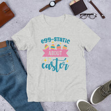 Load image into Gallery viewer, Egg-Static Unisex T-Shirt