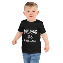 Load image into Gallery viewer, Mustang Baseball Short sleeve kids t-shirt