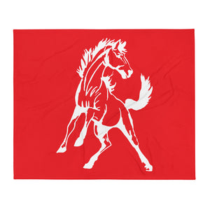 Sweetwater Mustang Throw Blanket