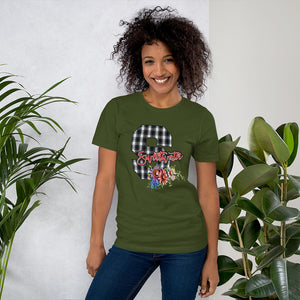 Sweetwater Plaid 'S' Unisex T-Shirt