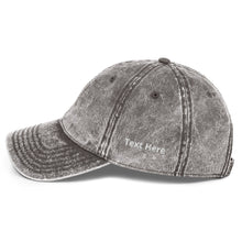 Load image into Gallery viewer, Personalized Vintage Cotton Twill Cap