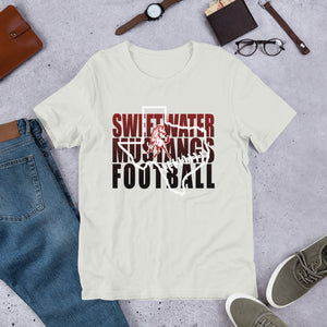 Sweetwater Mustang Football Unisex T-Shirt