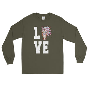 Mustang Love Long Sleeve T-Shirt
