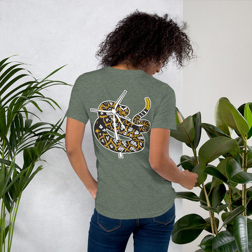 Rattlesnake and Wind Unisex T-Shirt