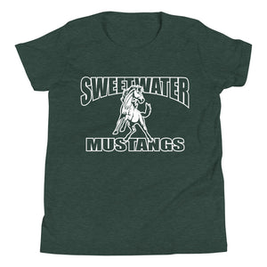 Youth Sweetwater Mustang T-Shirt - White Imprint