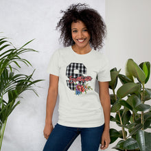 Load image into Gallery viewer, Sweetwater Plaid 'S' Unisex T-Shirt