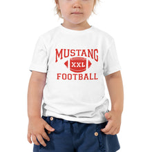 Load image into Gallery viewer, Mustang Football Toddler T-Shirt