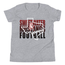 Load image into Gallery viewer, Youth Mustang Football T-Shirt