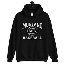 Load image into Gallery viewer, Mustang Baseball Unisex Hoodie
