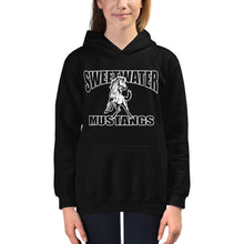 Load image into Gallery viewer, Kids Sweetwater Mustang Hoodie - White Imprint