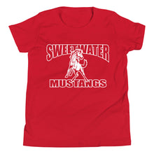 Load image into Gallery viewer, Youth Sweetwater Mustang T-Shirt - White Imprint