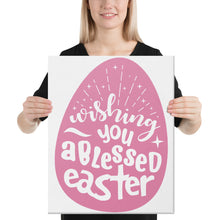 Load image into Gallery viewer, Blessed Easter Canvas